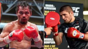 Russian Boxing chief hints at Khabib Nurmagomedov fighting Manny Pacquiao next - Nurmagomedov
