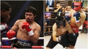 VIDEO: Manny Pacquiao's son destroying his opponent in his first amateur fight [FULL FIGHT] - Emmanuel