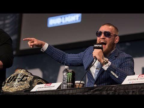 UFC: Dana White on NSAC telling McGregor to cut down trash talk: It's unconstitutional! - McGregor