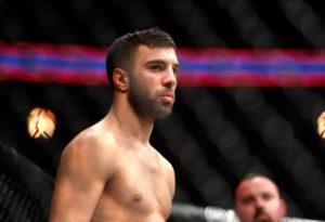 UFC: David Teymur ends up with a broken orbital bone after war with Charles Oliveira - Teymur