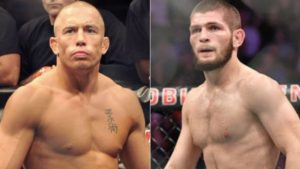 UFC: Khabib Nurmagomedov pleades with GSP not to retire before fighting him - St-Pierre