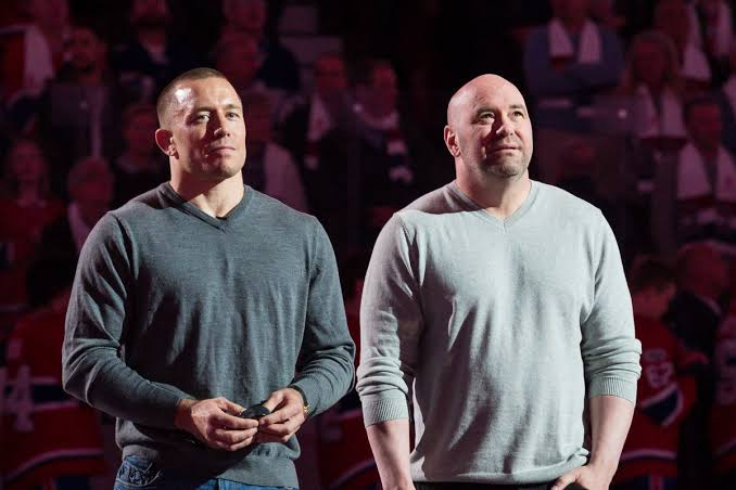 UFC: Georges St-Pierre finally settles his past arguments with President Dana White after retirement - St-Pierre