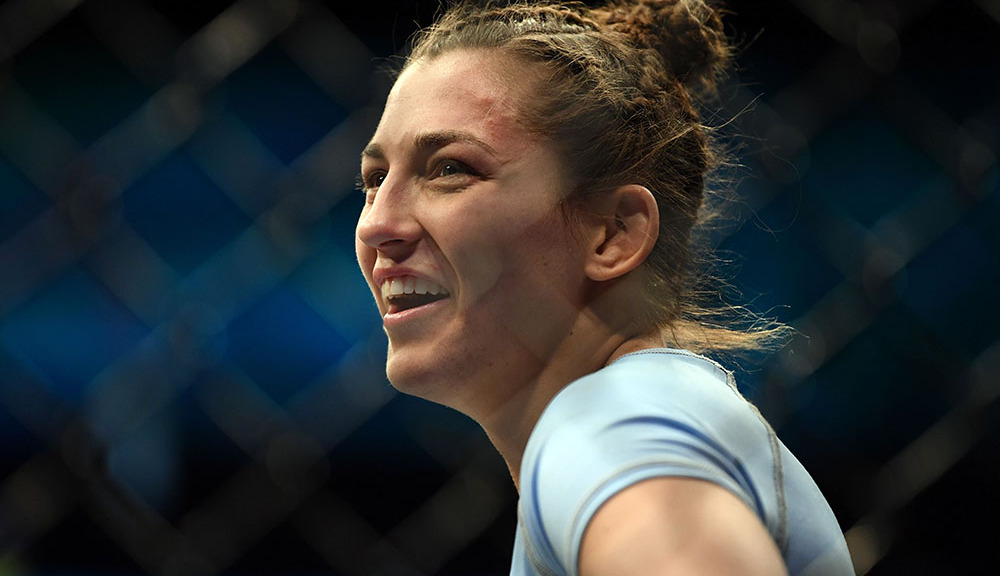 Montana De La Rosa wants to fight Paige VanZant after superb showing at UFC 234 -