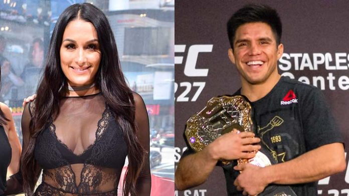 Cris Cyborg calls out Nikki Bella for Wrestlemania 35 - and Nikki goes to Henry Cejudo for help! - Nikki Bella