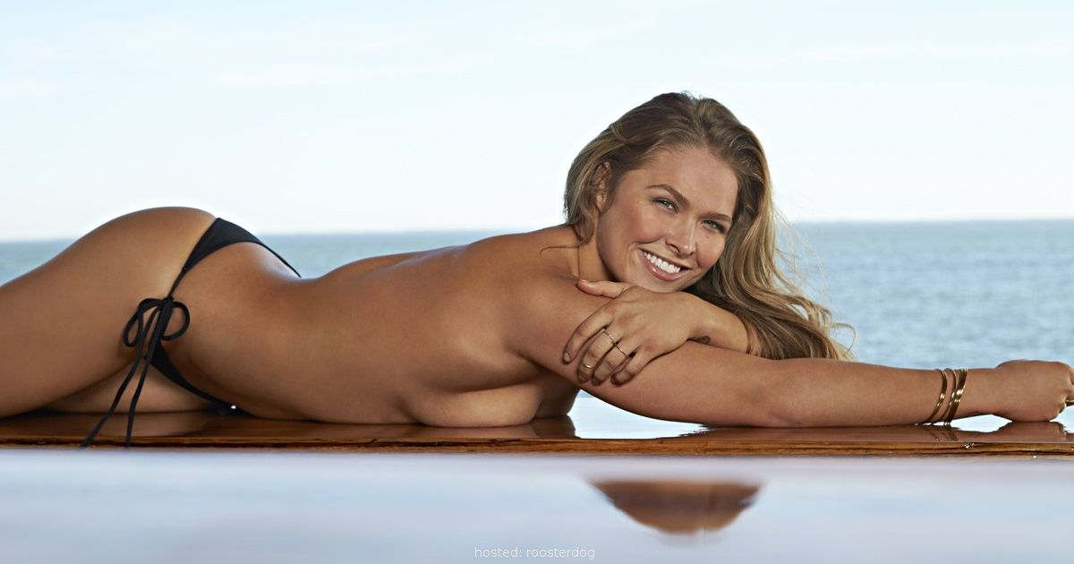 Ronda Rousey's hot photoshoot -