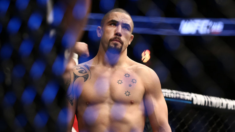 Robert Whittaker sends a message to his fans from the hospital after pulling out of UFC 234 -