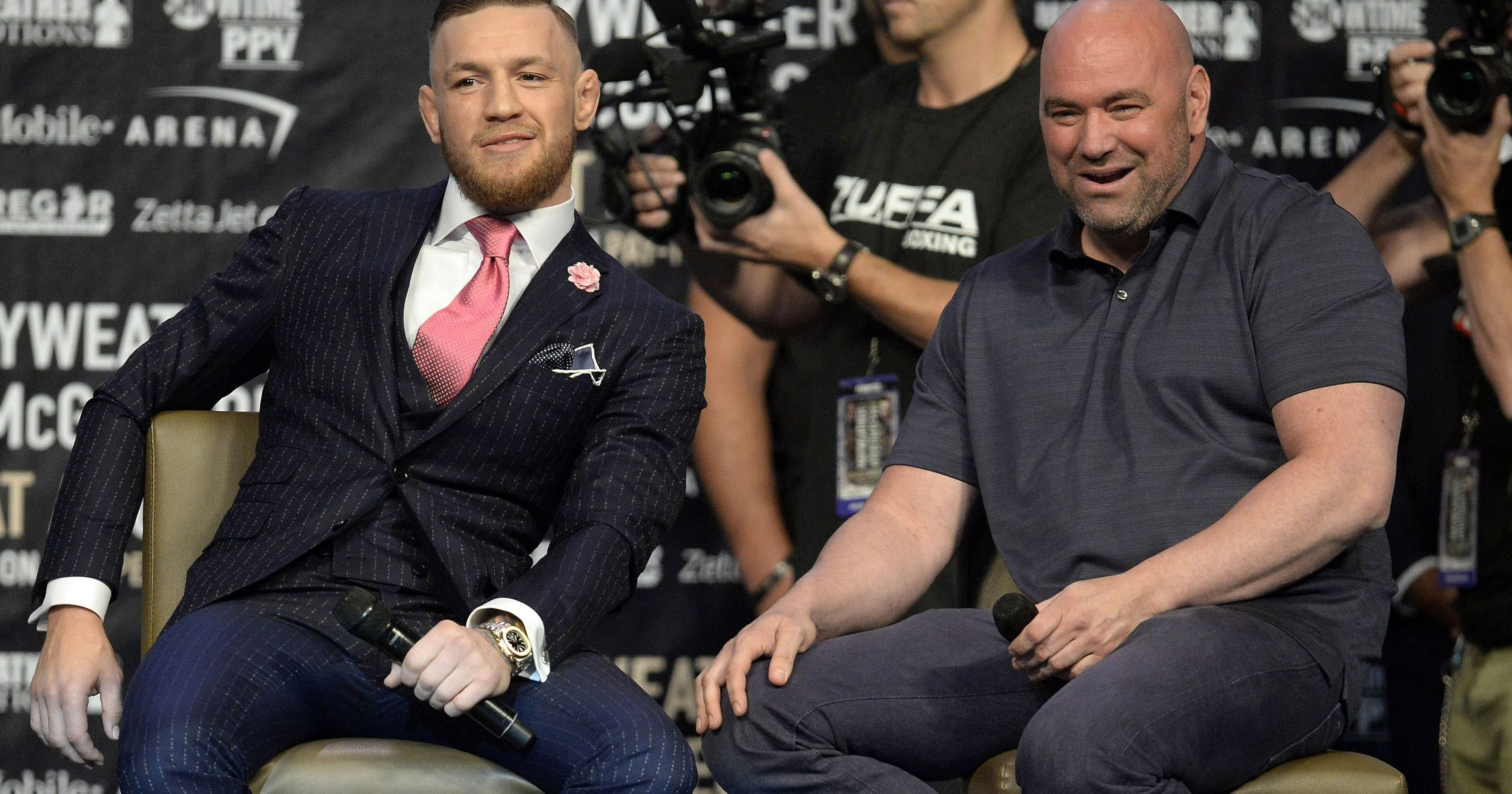 Dana White reacts to Conor McGregor's retirement, says he is happy for him - Conor