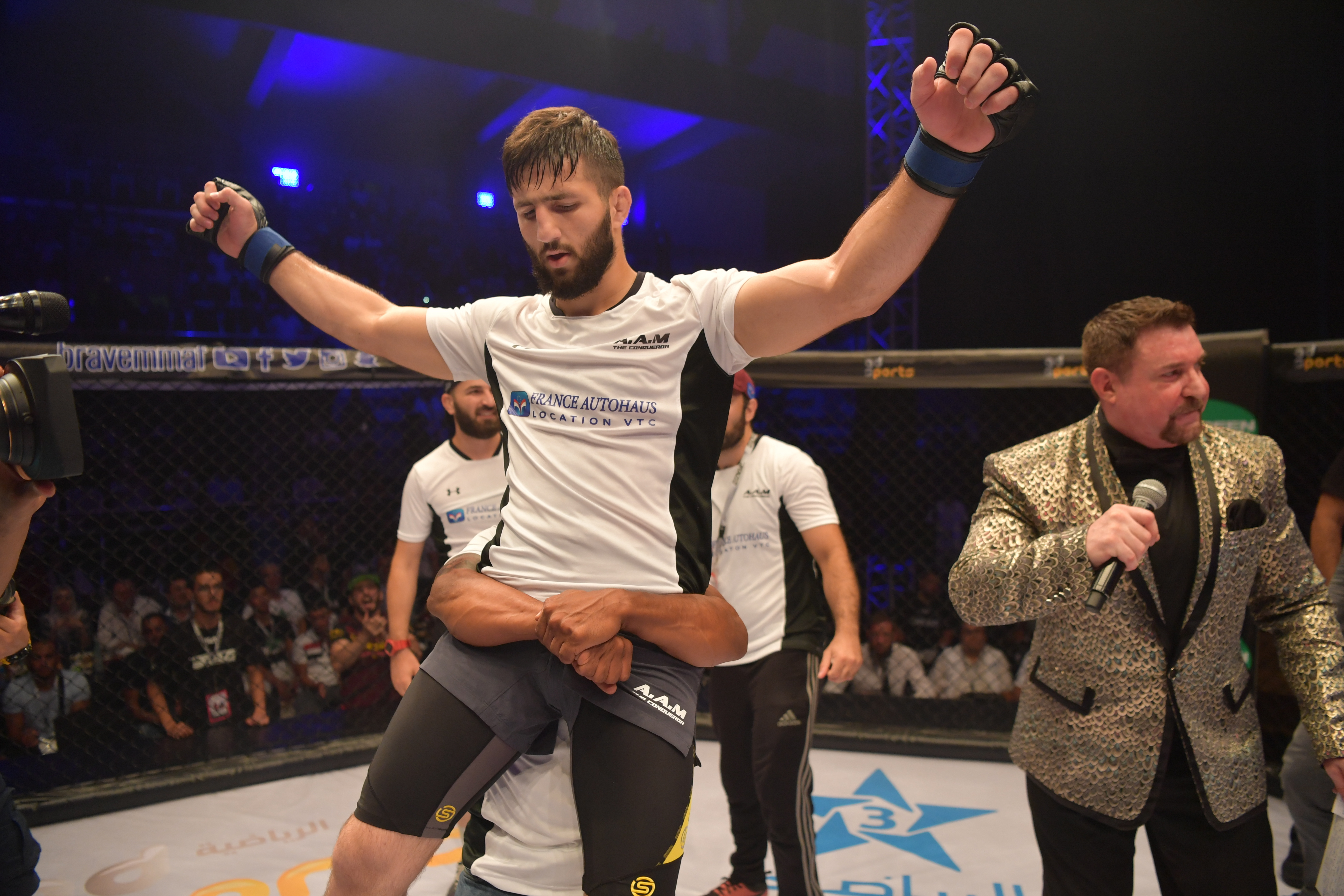 Abdouraguimov ready to conquer title at Brave 23 -