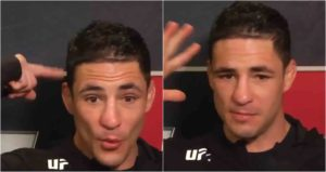 Diego Sanchez says he lives in another dimension and absorbs energy from thunderstorms - Diego