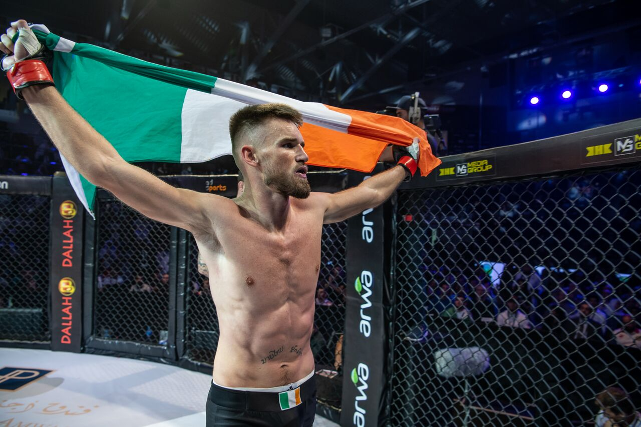 Cian Cowley eyes Al-Selwady's Lightweight title ahead of Brave 22 -