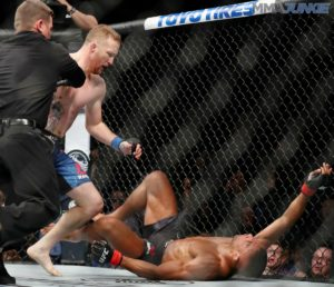 Twitter reacts to devastating one-punch KNOCKOUT victory of Justin Gaethje over Edson Barboza - Justin