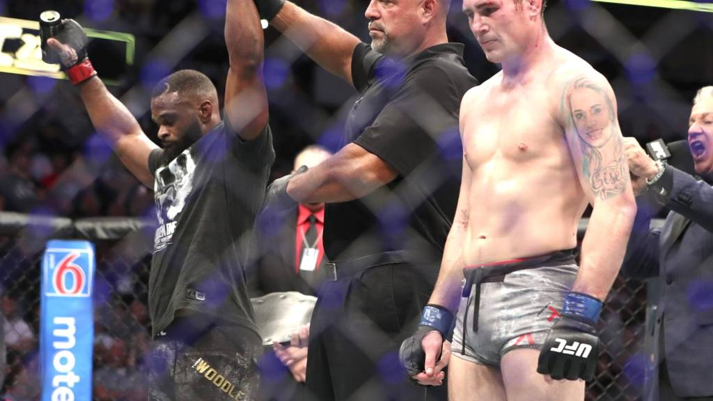 Darren Till on UFC 235 Welterweight title fight: 'The real Tyron Woodley didn't show up!' -