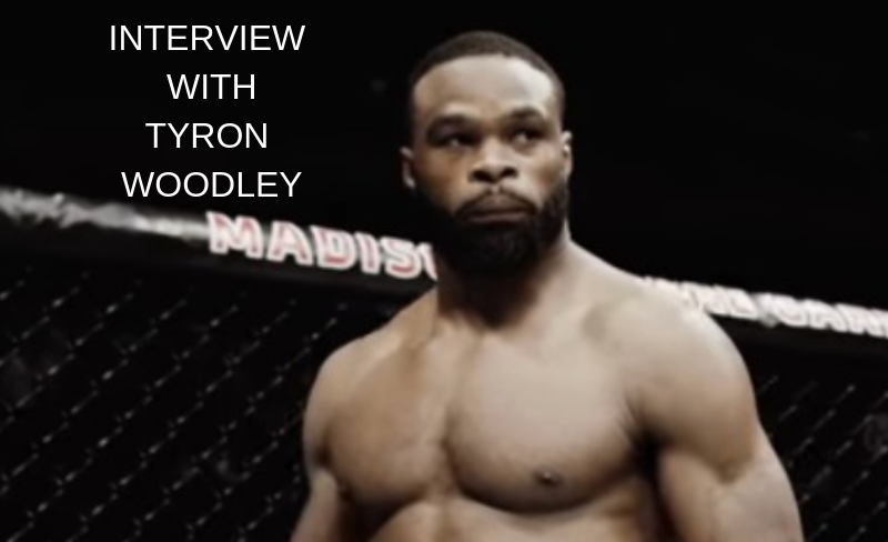 UFC 235's Tyron Woodley: I rank myself as the greatest right now -