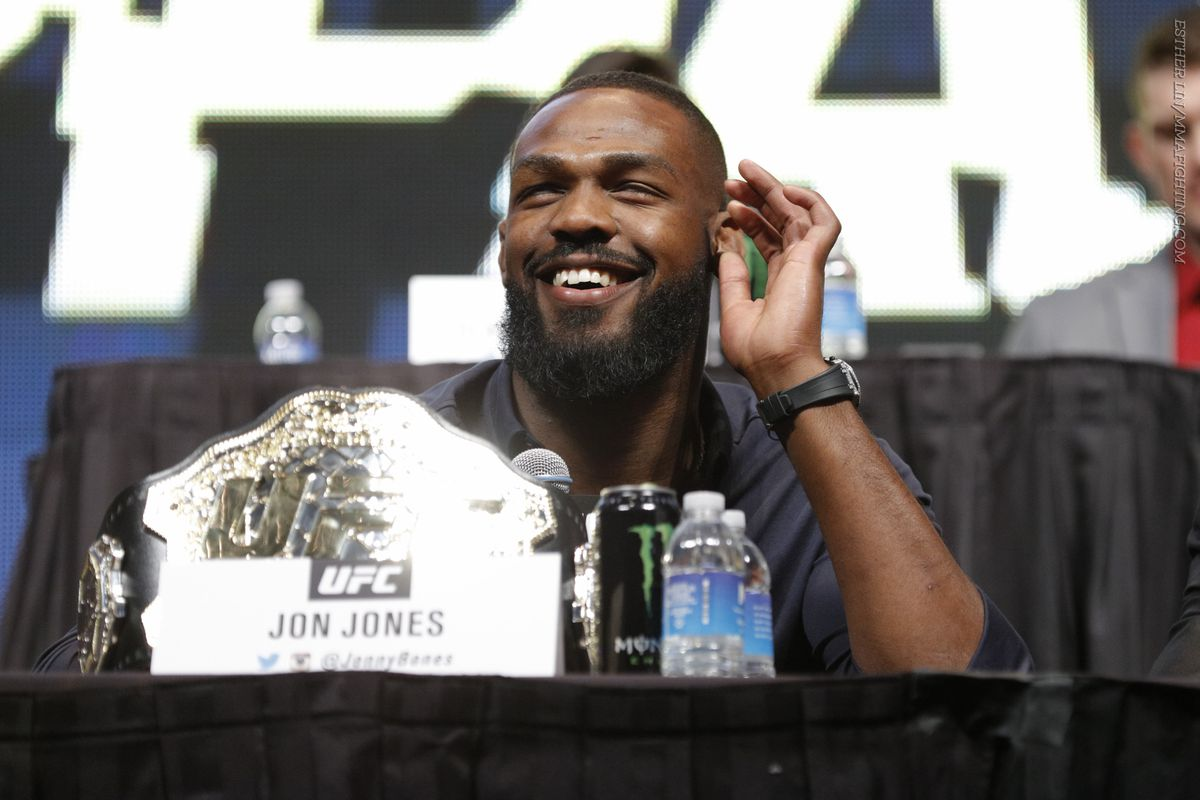 Jon Jones: In terms of dominance, I have the best resume ever -