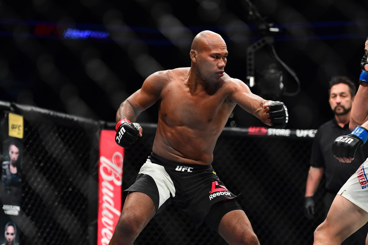 Jacare Souza reacts brilliantly to the news that he will have to fight Yoel Romero next before a UFC Title shot -