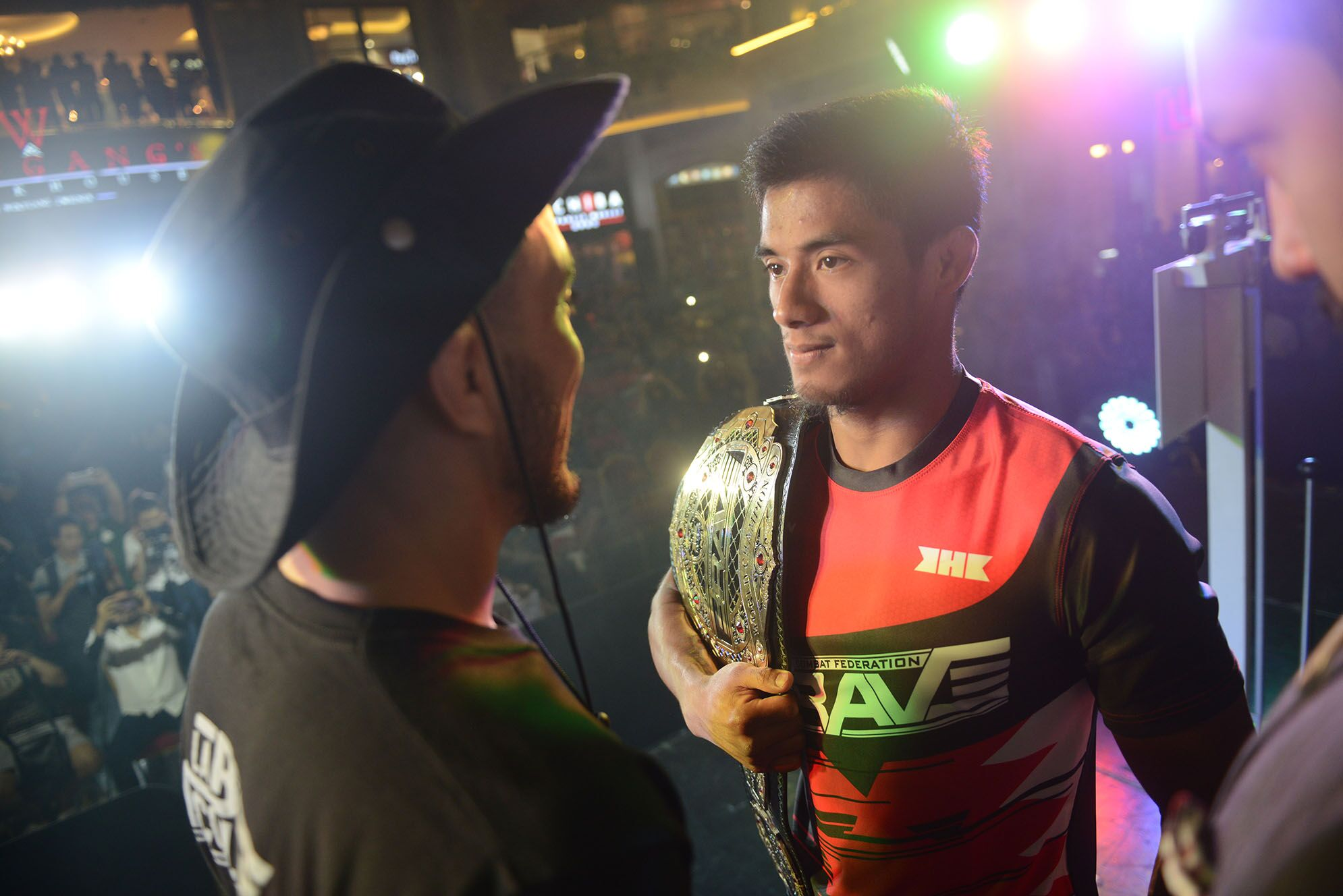 Brave 22 weigh-ins wrapped up with intense staredowns and missed weights -