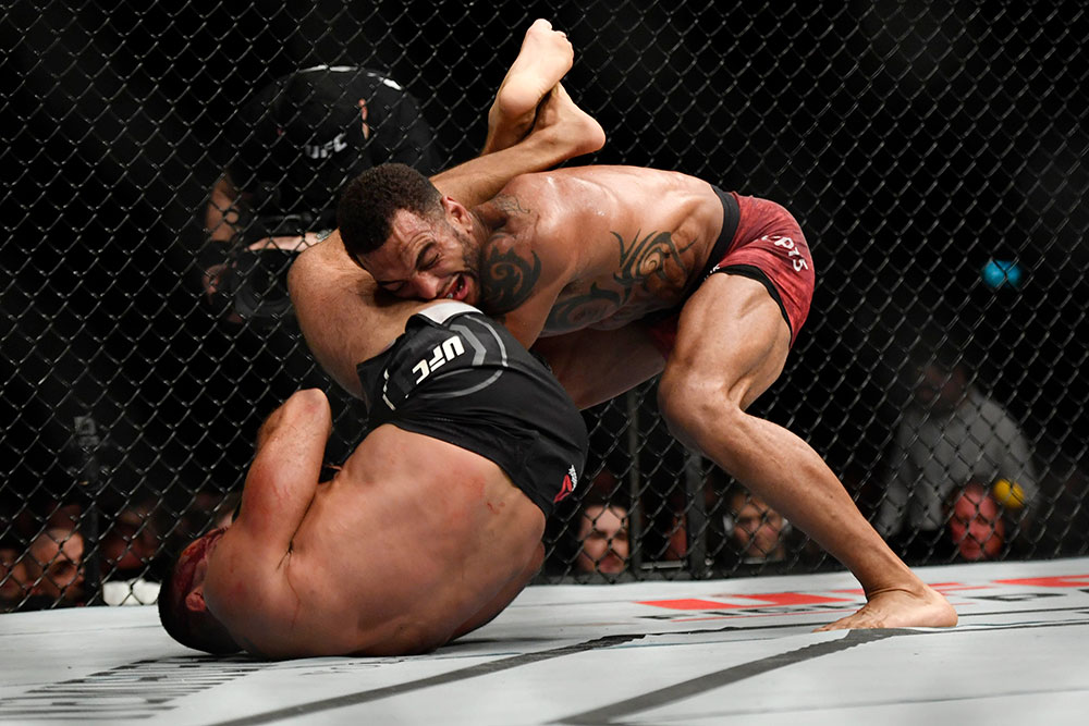 UFC Fight Night 147 Results - Claudio Silva Submits Danny Roberts in Round 3 -