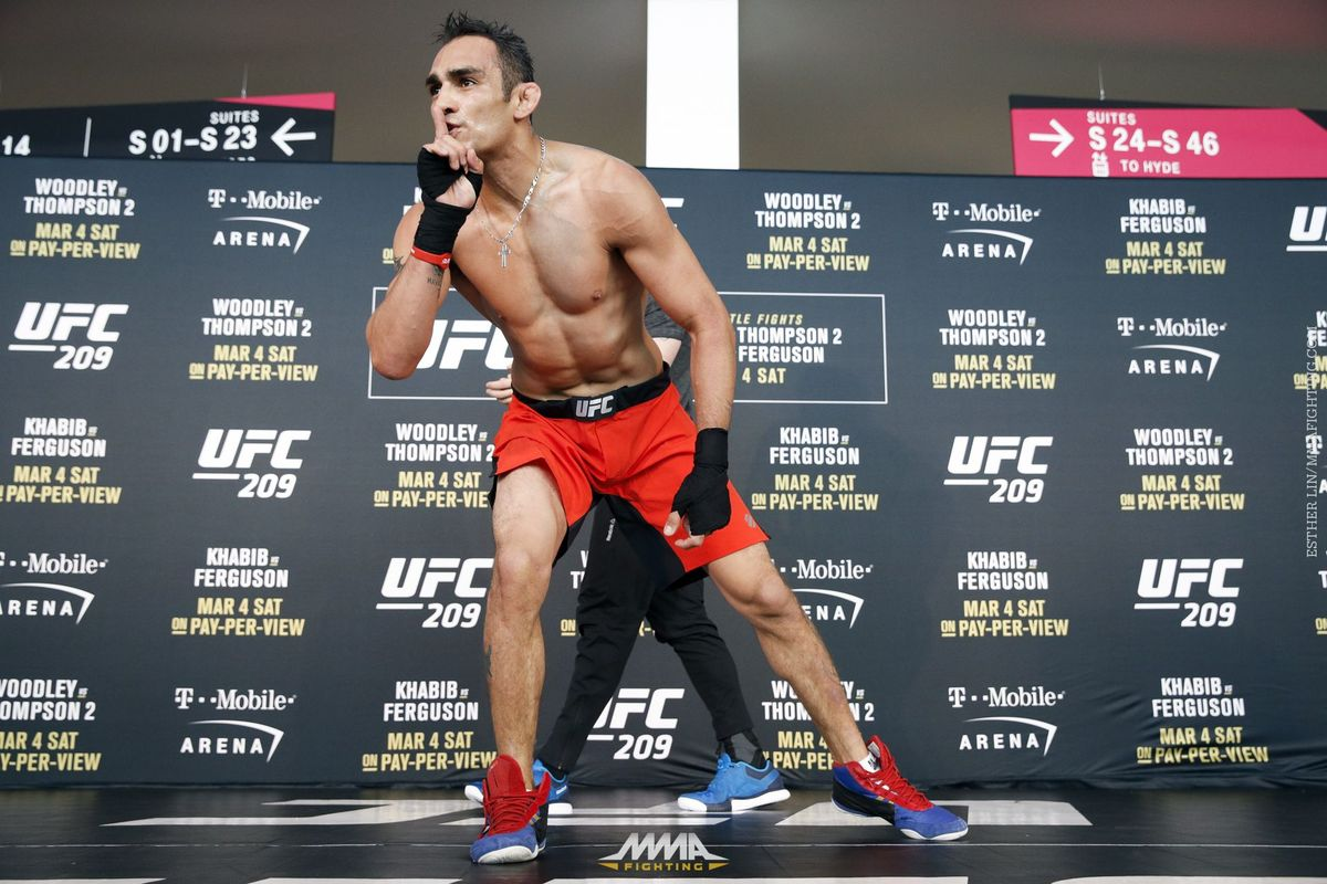 Former UFC Lightweight Champion Eddie Alvarez feels for Tony Ferguson after latest interim Title gaffe -