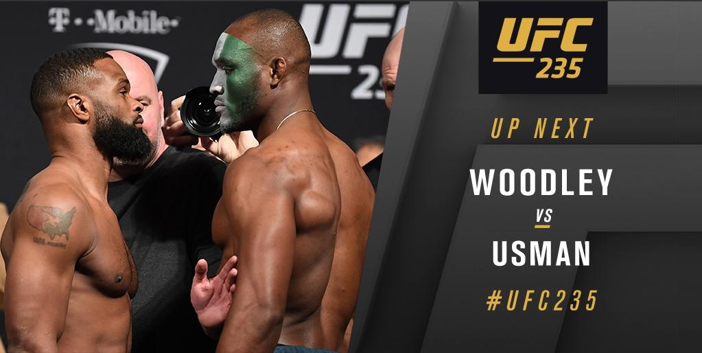 UFC 235 Results: Kamaru Usman Dethrones Woodley to Become the First Ever African UFC Champion -