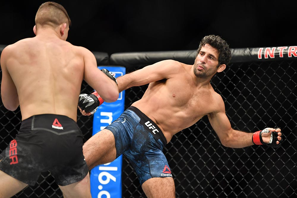 UFC Fight Night 146 Results - Beneil Dariush Submits Drew Dober in Round 2 -