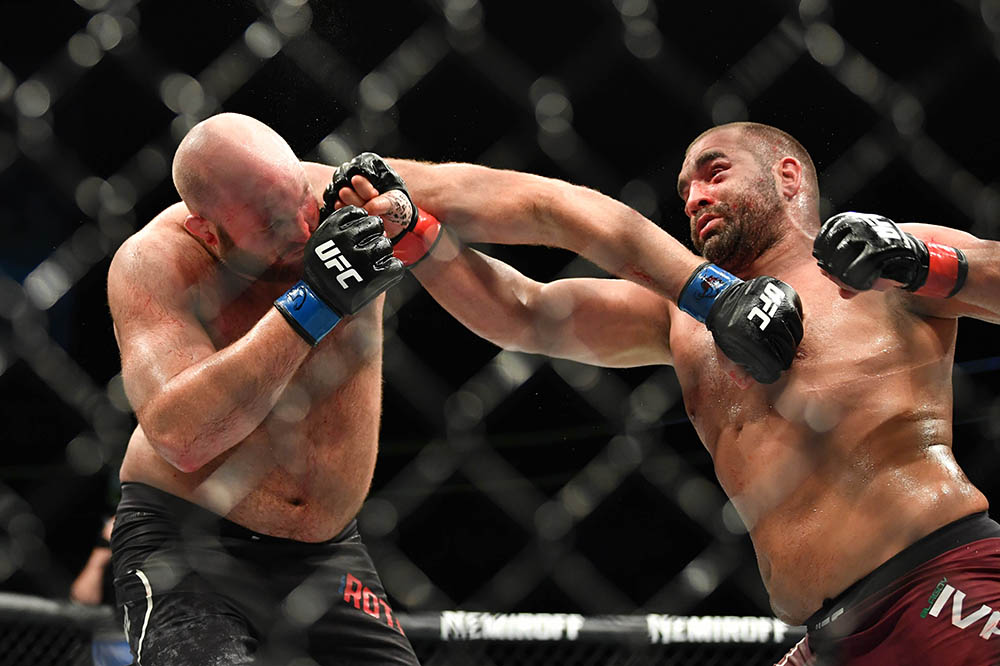 UFC Fight Night 146 Results - Blagoy Ivanov defeated Ben Rothwell via Unanimous Decision -