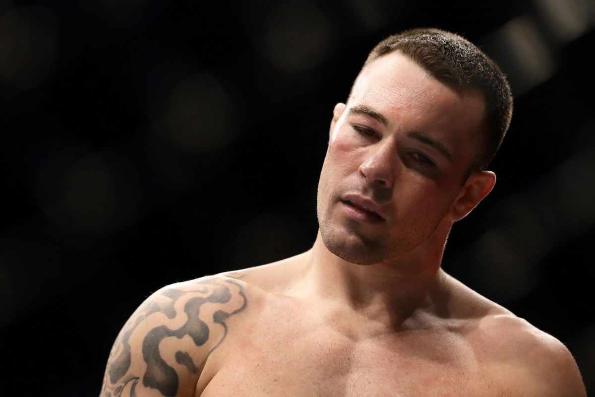 Colby Covington details his verbal altercation with Mama Woodley in the crowd at UFC 235 -