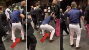 VIDEO: Conor McGregor 'stomping on phone he snatched off fan' in Miami - Conor