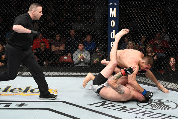 Tim Means suffers broken ankle after Niko Price KO at UFC Wichita (Graphic) -