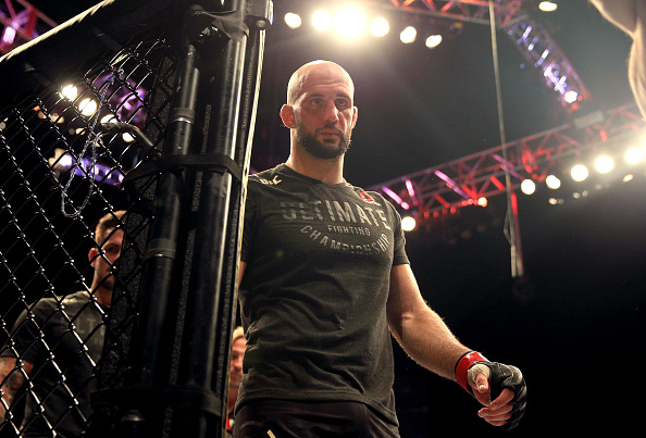 Volkan Oezdemir unhappy with decision loss against Dominick Reyes at UFC London -