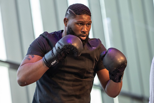 Curtis Blaydes refuses to engage with Justin 'next Colby Covington' Willis' mindgames ahead of UFC Nashville -