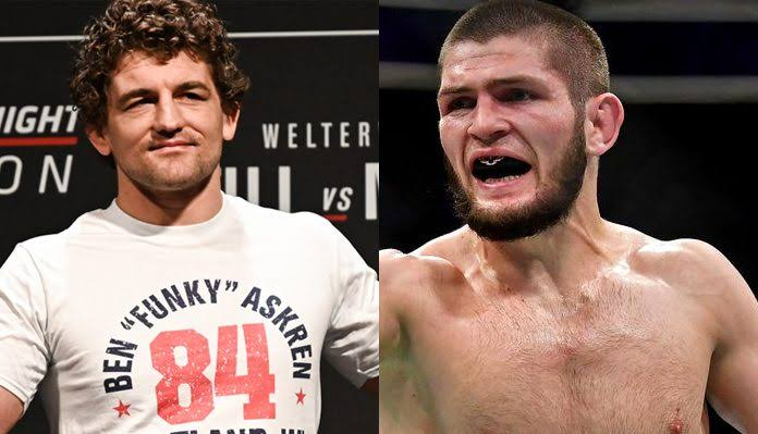 UFC: Ben Askren campaigns for 165 pound Title shot against Khabib Nurmagomedov - Askren