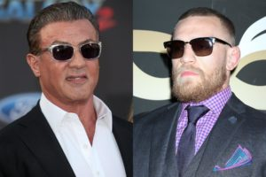 Watch: 'UFC god' Conor McGregor gets inspirational advice from Sylvester Stallone - Sylvester