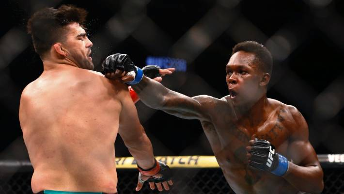 Israel Adesanya on what he was thinking during Kelvin Gastelum fight: We're going to die right here, you and me! -