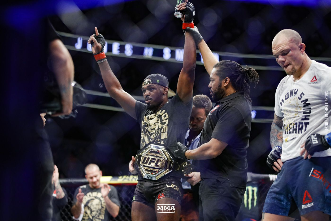 Jon Jones and Israel Adesanya continue to battle on Twitter -