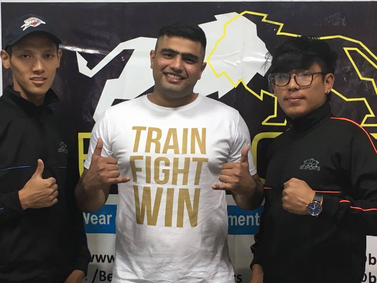 MMA fighter Mandeep Singh Dahiya backs Jason Solomon; wants out of SFL contract - Dahiya