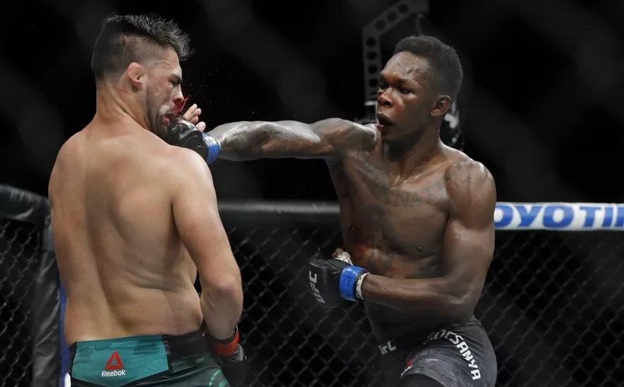 Kelvin Gastelum and Israel Adesanya show massive respect to each other after UFC 236 war - Israel Adesanya