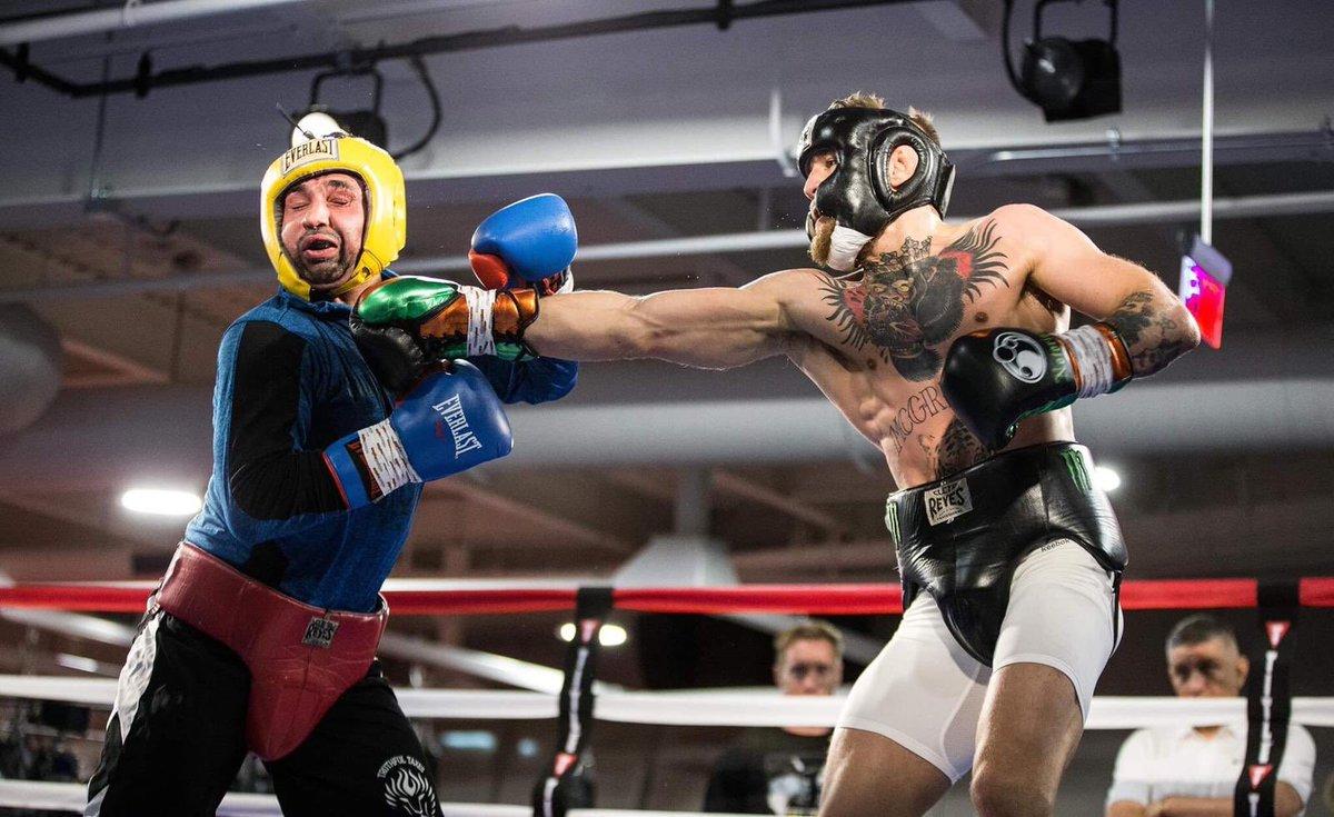 Conor McGregor retialiates with an image dump on social media after Pauli Malignaggi slaps Artem Lobov and Malignaggi responds - Lobov