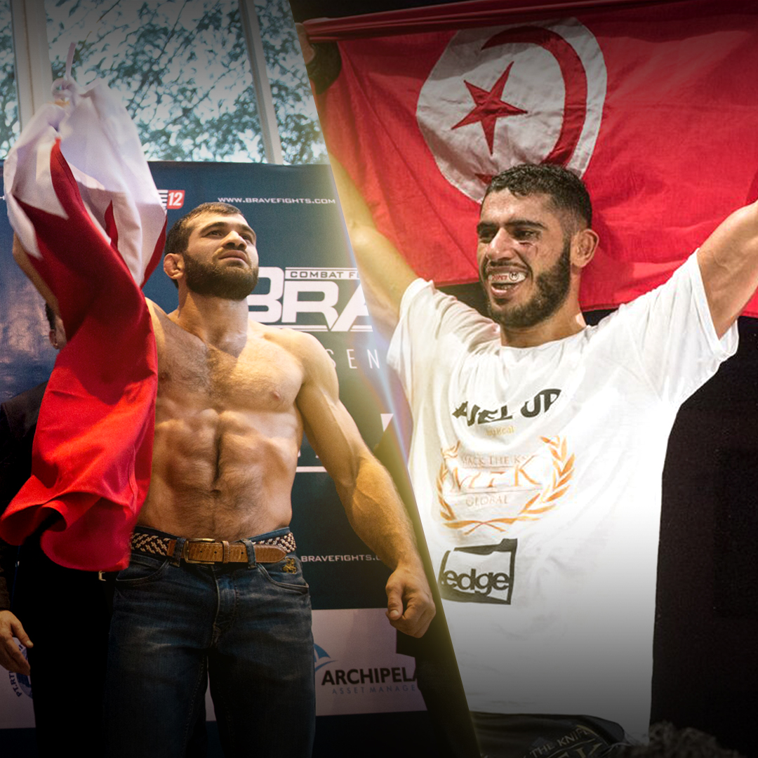 Clash of styles in historical Brave 23 title fight between Eldarov and Lazzez -