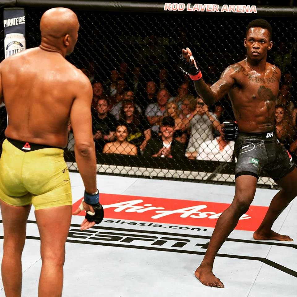 Reviewing The 5 Star Performances Of Israel Adesanya In The