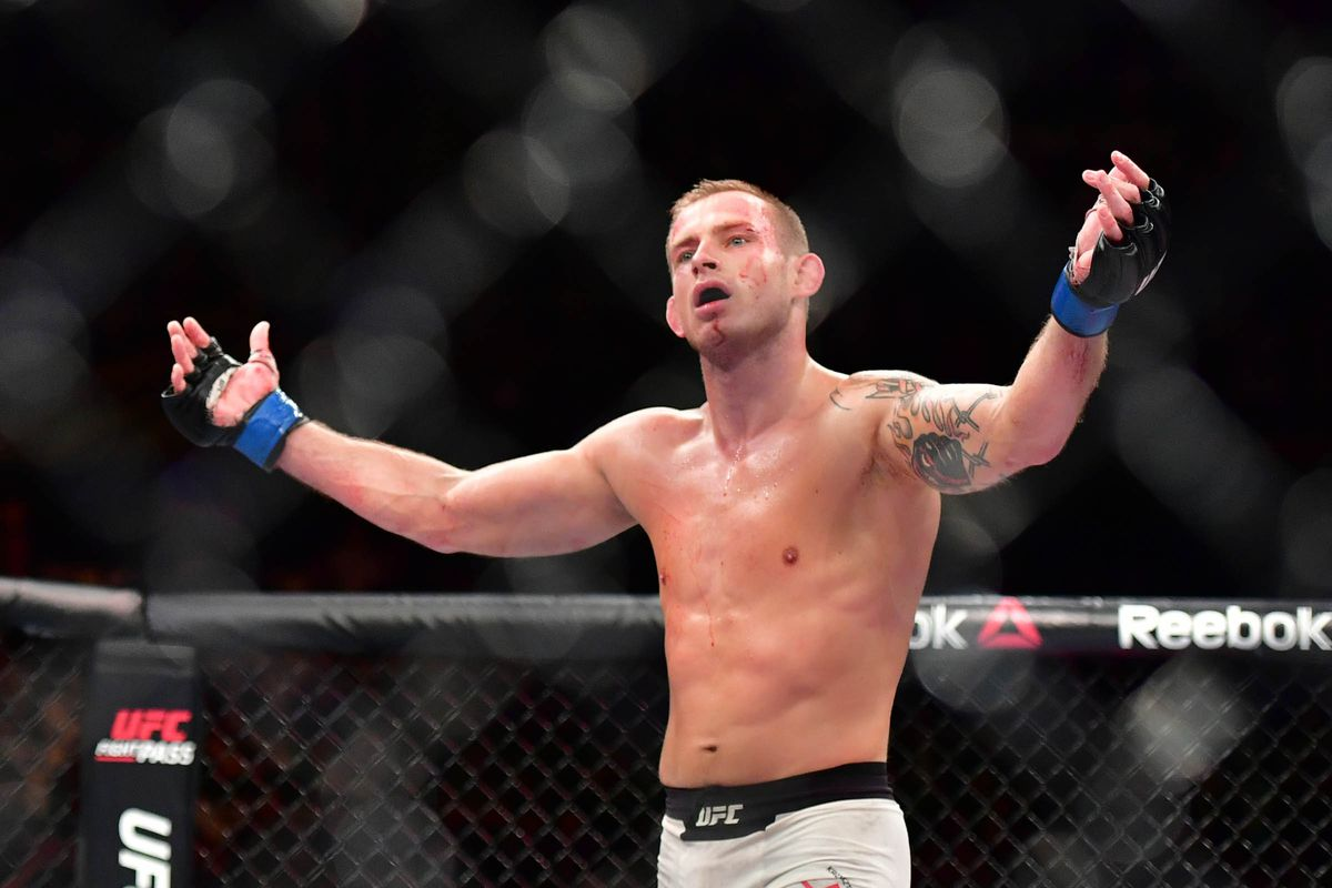 UFC Fight Night 149 Results - Krzysztof Jotko Schools Newcomer Alen Amedovski for Three Rounds, Wins via Unanimous Decision -