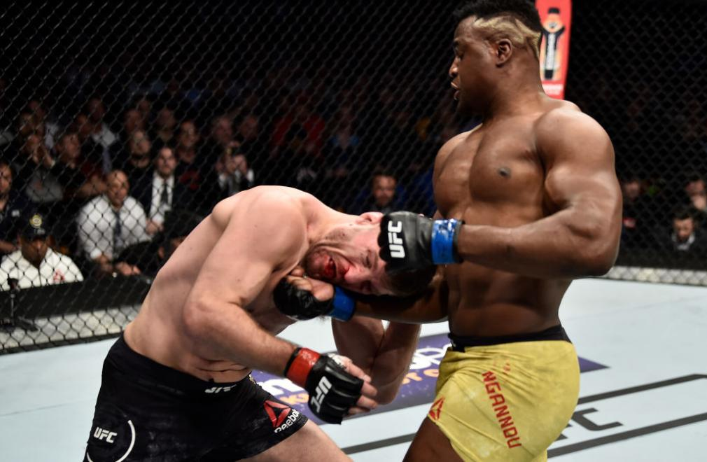 Francis Ngannou wants a HW title shot after JDS fight - Francis Ngannou