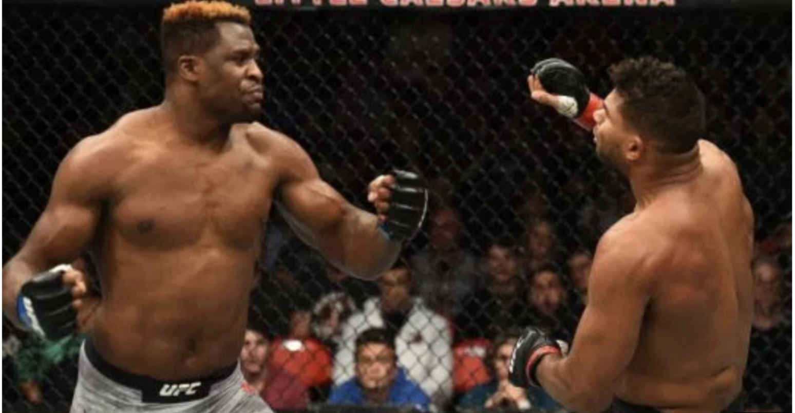 When did Francis Ngannou first start training in MMA ? -