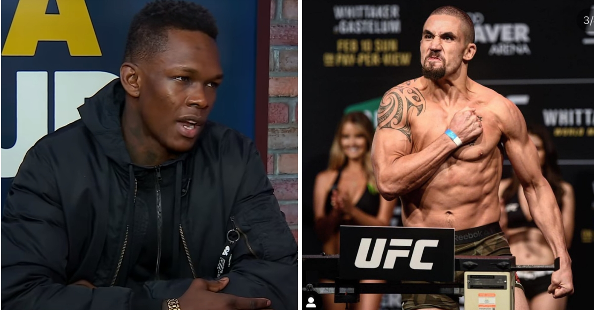 Watch: Israel Adesanya wants Robert Whittaker to relinquish the middleweight strap after prolonged inactivity - Israel