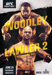 UFC releases official poster for Woodley vs Lawler 2! - Tyron Woodley