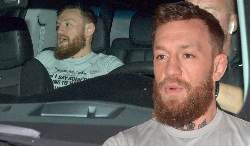 Conor McGregor arrested for allegedly smashing a fan's phone, Miami Beach, Florida, USA - 11 Mar 2019