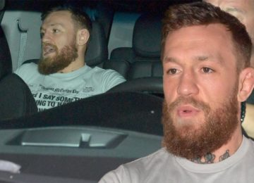 Conor McGregor arrested for allegedly smashing a fan's phone, Miami Beach, Florida, USA - 11 Mar 2019