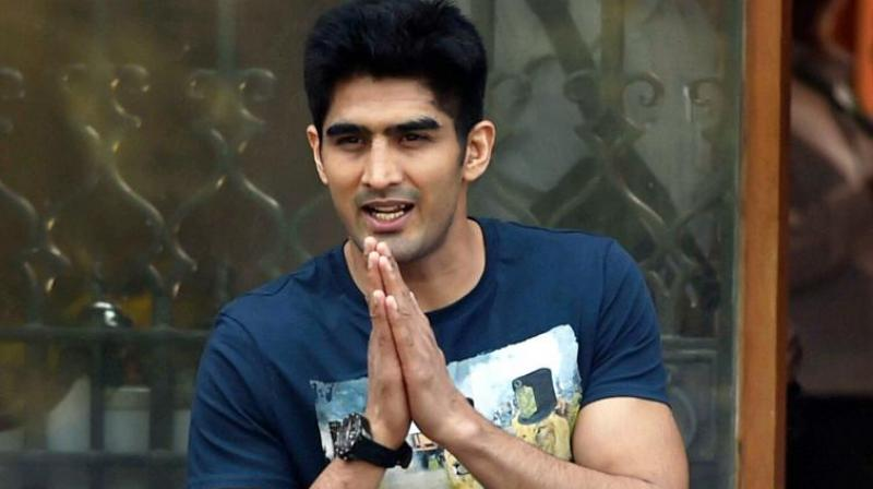 Vijender Singh part of charity drive to fight hunger in India - Vijender