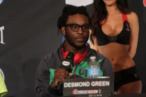 Desmond Green willing to fight for free, if offered hometown fight at UFC Rochester - Desmond Green