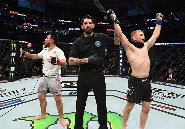 Ray Borg furious at judges after his decision loss to Casey Kenney at UFC Philadelphia on Saturday night -
