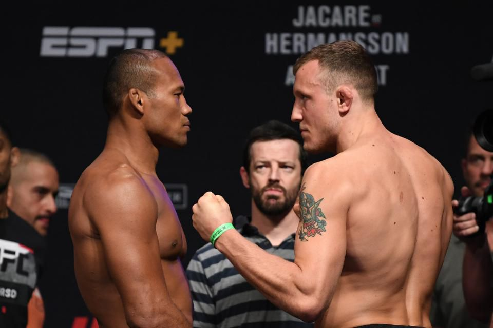 UFC Fight Night 150 'Jacare vs. Hermansson'- Play by Play Updates & LIVE Results -